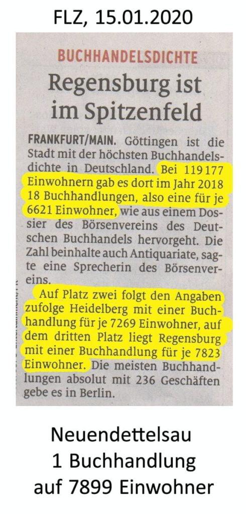 FLZ Zeitungsausschnitt